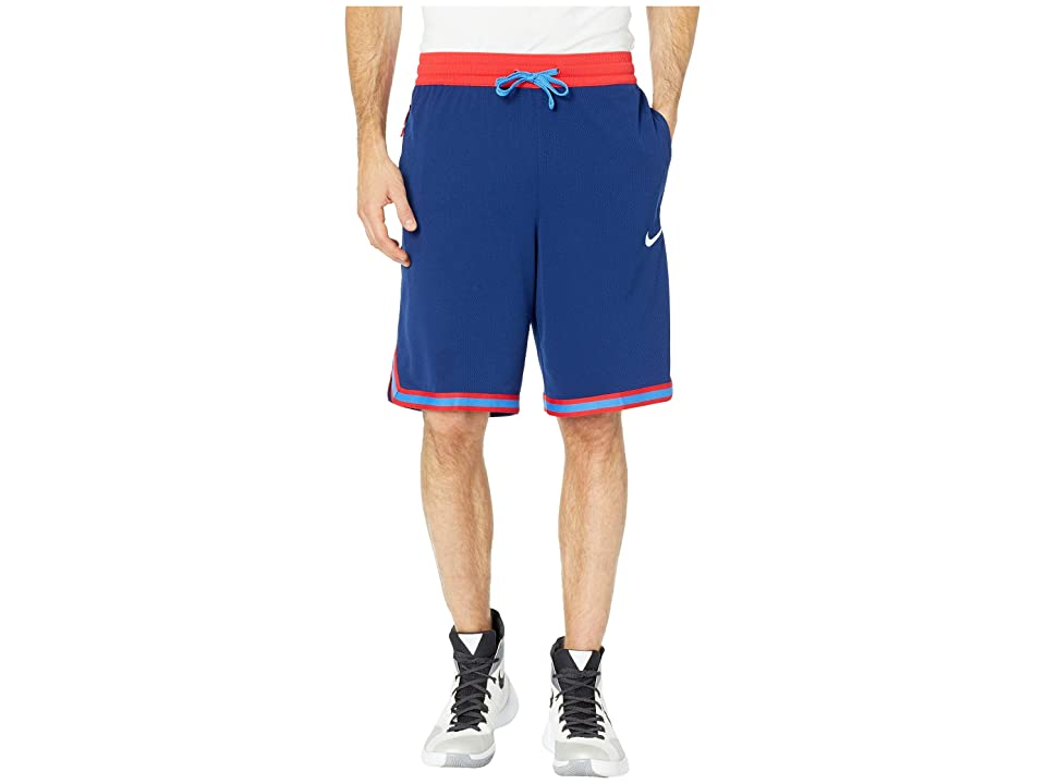 Nike Dry DNA Shorts (Blue Void/University Red/White) Men