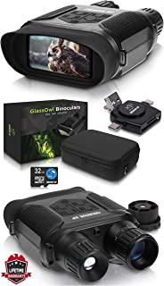 CREATIVE XP Digital Night Vision Binoculars for Complete Darkness - GlassOwl Infrared Night Vision Goggles for Hunting, Sp...