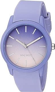 Nine West Women's Silicone Strap Watch