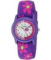 Timex Children's Time Teacher Flowers Stretch Band Watch