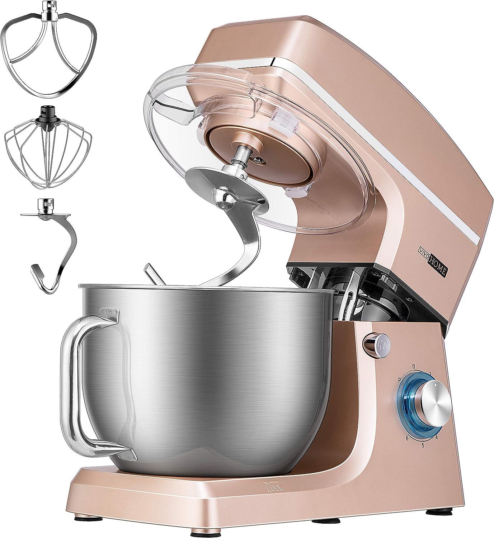 VIVOHOME Max 41% OFF Don't miss the campaign 7.5 Quart Stand Mixer 660W Tilt-Head Kitchen E 6-Speed