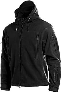 Sponsored Ad - M-Tac Military Fleece Jacket Men - Tactical Fleece Hoodie - Survival Sweatshirt