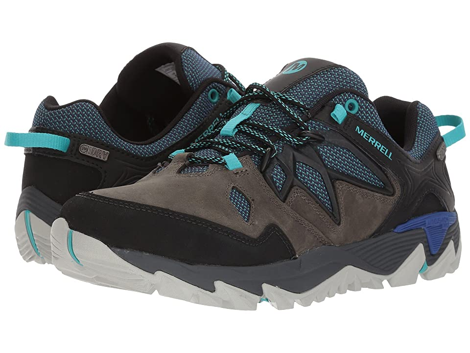 Merrell All Out Blaze 2 Waterproof (Pewter/Mazarine Blue) Women