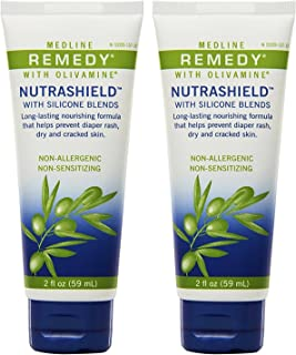 Medline Remedy Nutrashield Skin Protectant,  Unscented (4 ounce),  2 Pack