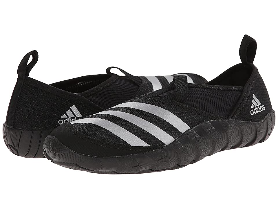 Image of adidas Outdoor Kids Jawpaw (Toddler/Little Kid/Big Kid) (Black/Silver Metallic/Black) Kids Shoes
