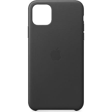 Apple Funda Leather Case (para el iPhone 11 Pro MAX) - en Negro