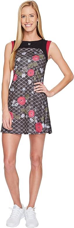 Eleven by Venus Williams - Floral Brocade Pelisse Dress