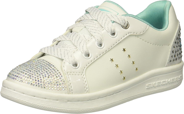 Skechers omne - smile back wit sneakers meisjes