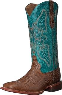 Ferrini Women's Print Belly S-toe Western Boot
