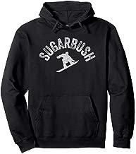 Snowboarder Sugarbush Vintage Snowboarding Retro Style VT Pullover Hoodie