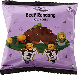 F.EAST Beef Rendang Potato Chips Pack (30 Pieces)