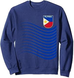 Philippines Soccer Jersey Pilipinas Basketball Flag Gift Sweatshirt