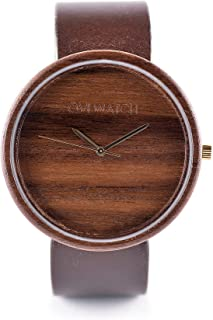 Wooden Watch Avium by Ovi Watch | Handmade Quartz watch | Minimalism design