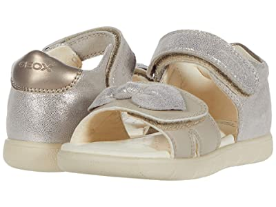 Geox Kids Sandal Alul 8 (Toddler) (Medium Beige) Girl