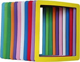 8x10 Magnetic Picture Frame Colorful Magnetic Children's Artwork Frame Magnet 8x10 Magnetic Frame for Fridge Thick 8x10 Magnetic Frames Holder 8x10 Inch Frames for Iron Material Surfaces Decor 11 Pack
