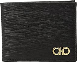 Salvatore Ferragamo - Revival Gancio Bifold with Window - 66A066