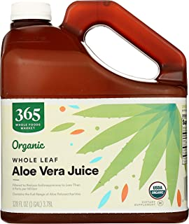 365 by Whole Foods Market, Supplements - Digestion, Aloe Vera Juice - Whole Leaf, 128 Fl Oz