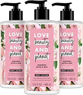 Sponsored Ad - LBP Delicious Glow Body Lotion For Soft, Glowing Skin Muru Butter & Rose Oil Paraben Free, Sulfate Free, an...