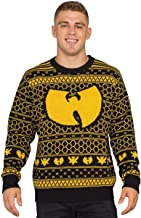 Wu Tang Clan Killer Bees Adult Black and Yellow Ugly Christmas Sweater