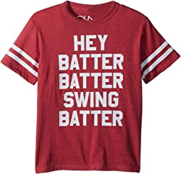 Chaser Kids - Vintage Jersey Batter Batter Tee (Little Kids/Big Kids)