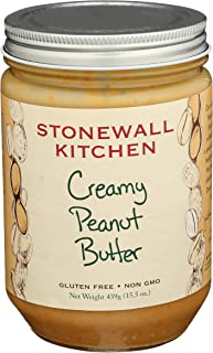 Sponsored Ad - Stonewall Kitchen All Natural Creamy Peanut Butter, 15.5 Ounce