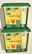 Knorr LeGout 095 Chicken Base Gluten Free 16 Ounce  (2 Pack)