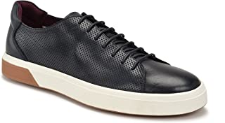JACHS NEW YORK Men's Dave Oxford Round Toe Sneaker