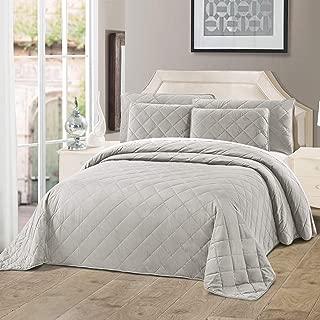 Best silver velvet bedspread Reviews