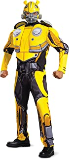 Men's Bumblebee Movie Classic Muscle Adult Costume