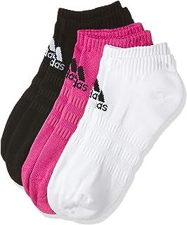 adidas Women's Cush Low 3pp No Show Socks
