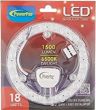 PowerPac LED Circular Tube 18W DL/WW/CW, PPC180 WHITE