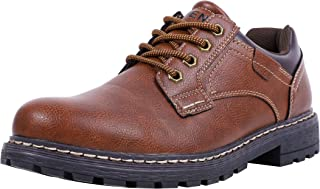 Men's Business Causal Walk Shoes Oxford Anti-Slip Rugged Outsole All-Weather Comfortable Daily Wear