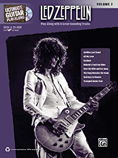 Ultimate Guitar Play-Along Led Zeppelin, Vol 2: Authentic Guitar TAB, Book & Online Audio/Software (Ultimate Play-Along)
