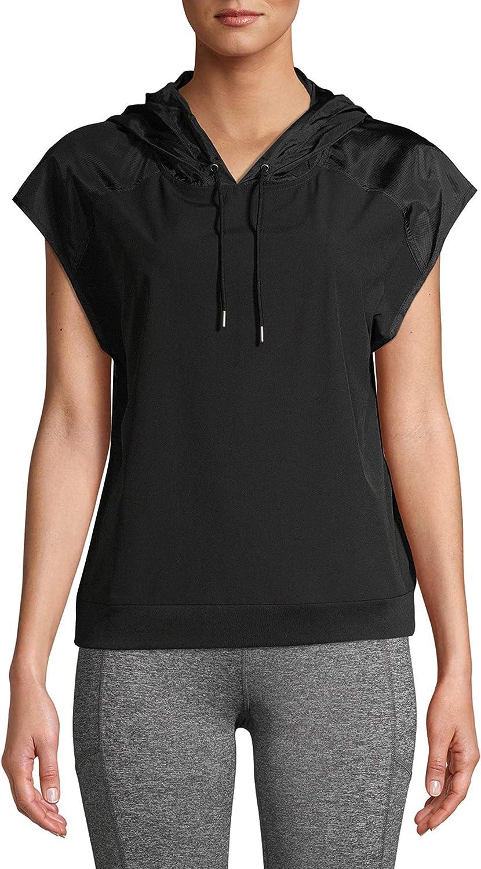 Avia Women's Short Sleeve Windbreaker Hoodie Vest Jacket or Top