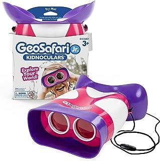 Educational Insights GeoSafari Jr. Kidnoculars Pink: Science Toys, Kids Binoculars, Perfect Outdoor Play for Preschool Sci...