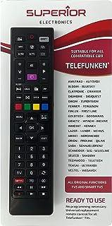 Superior - Mando a distancia universal de repuesto para todas las TV y Smart TV de la marca TELEFUNKEN & VESTEL