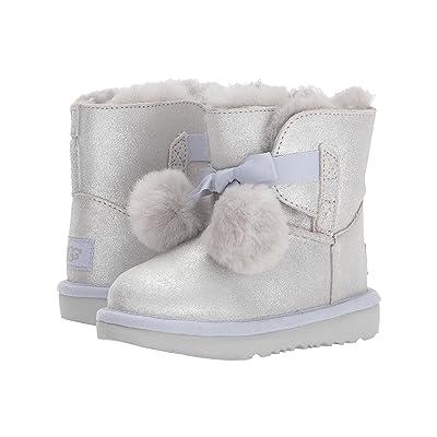 UGG Kids Gita Metallic (Toddler/Little Kid) (Silver) Girls Shoes