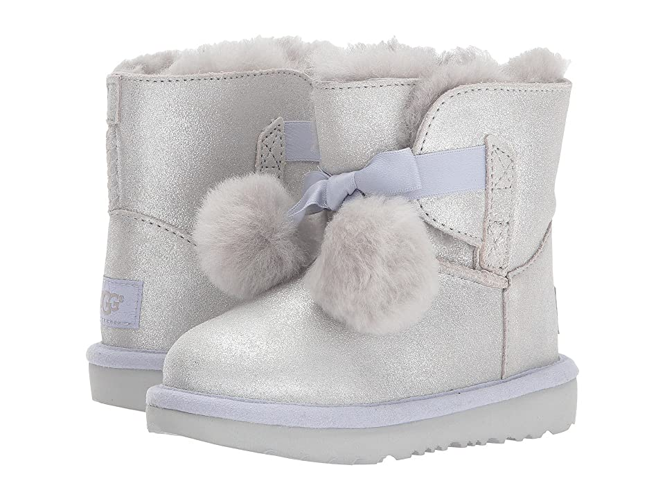 UGG Kids Gita Metallic (Toddler/Little Kid) (Silver) Girls Shoes