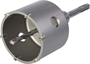 Wolfcraft (L) sierra de corona de sondeo con adaptador vástago SDS-plus, resistente a golpes y choques durante el taladrado, profundidad de corte: 46 mm PACK 1