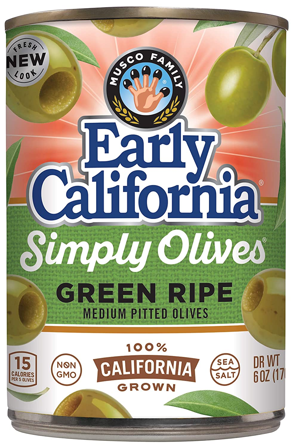 All items free shipping Early California Simply Olives Green Pack Choice Pitted oz Ripe 6