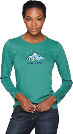 Powder Room Crusher Long Sleeve T-Shirt