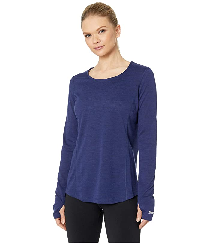 Marmot Taylor Canyon Long Sleeve Top (Arctic Navy) Women
