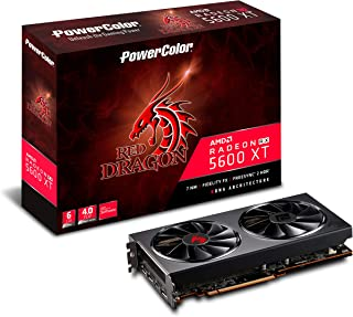 PowerColor AMD Radeon RX5600XT搭載 グラフィックボード GDDR6 6GB RED DRAGONシリーズ AXRX 5600XT 6GBD6-3DHR/OC