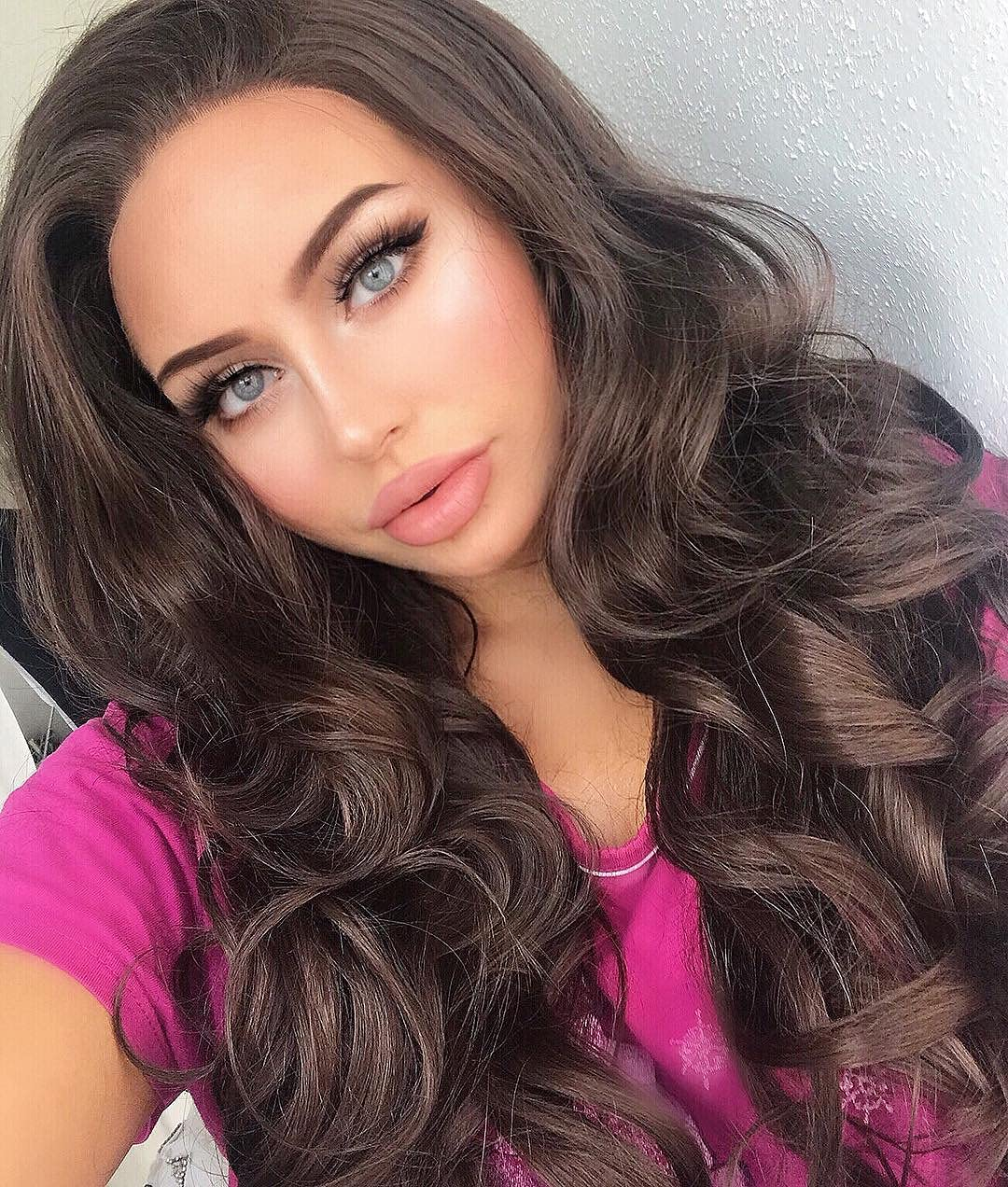 Popular shop In a popularity is the lowest price challenge Imstyle Women 26 Inches Lace Front Natural Brown S Wig Long Wavy