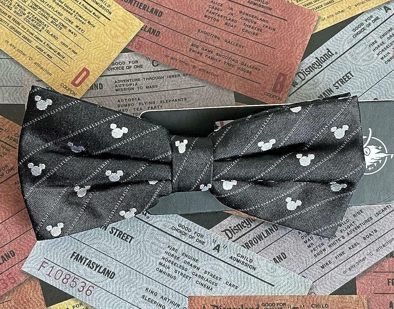 Disney Parks Mickey Bow Tie 100% Silk