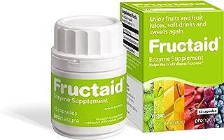 Fructaid - Fructose Malabsorption, Fructose Intolerance, Xylose Isomerase, Glucose Isomerase