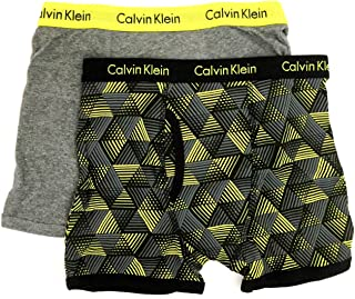 Calvin Klein Little/Big Boys' Assorted Boxer Briefs (Pack of 2)