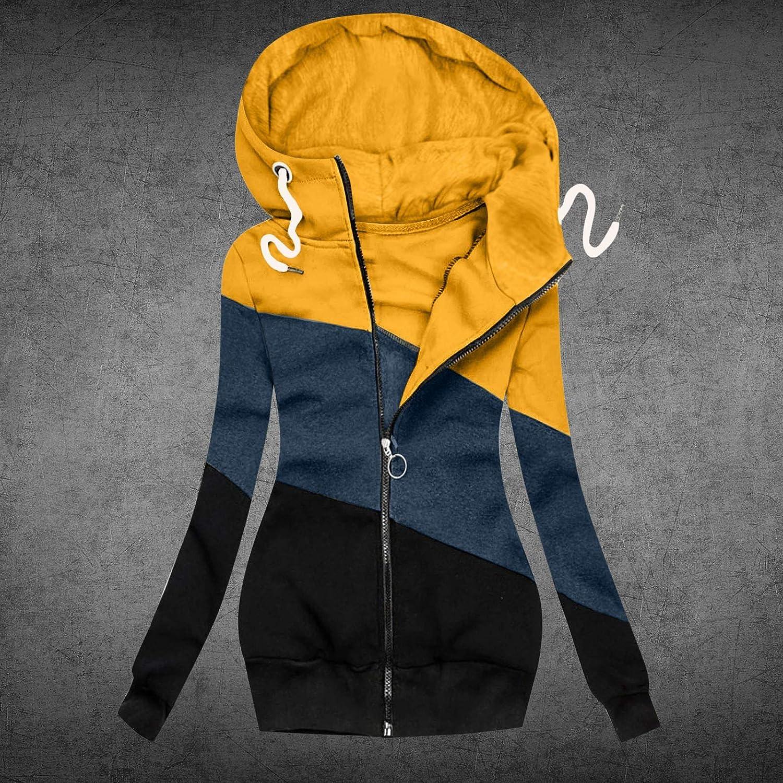Mantel Sweatshirt Frauen Mode Solid Jacke Reißverschluss Tasche Langarm 4gelb