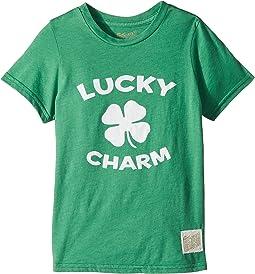 Lucky Charm Short Sleeve Heathered Tee (Little Kids/Big Kids)