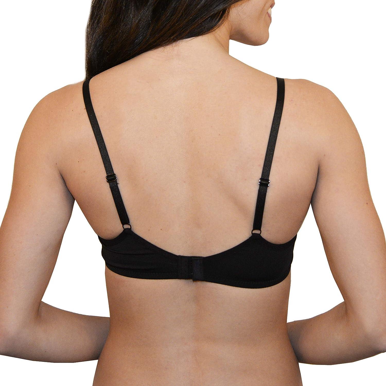 Women's Lace Demi Bra & T-Shirt Bra 2-Pack